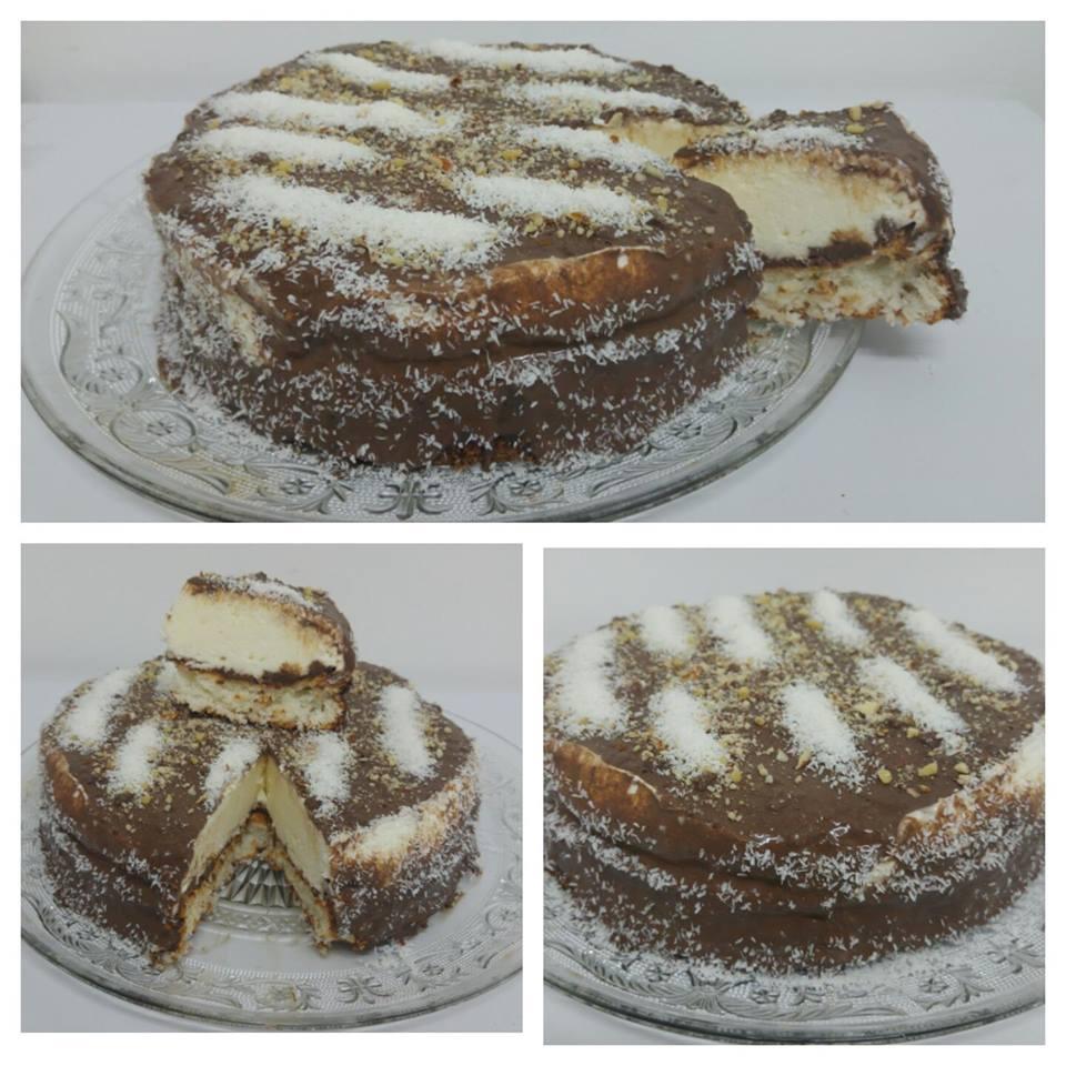 מבשלים ואופים עם מאסטר מתכונים   ---    עוגת קוקוס עם שמנת ..עוגה קלה ,טעימה ,ללא גלוטן ומתאימה לפסח...המתכון של אשה מיוחדת שרה יוסף