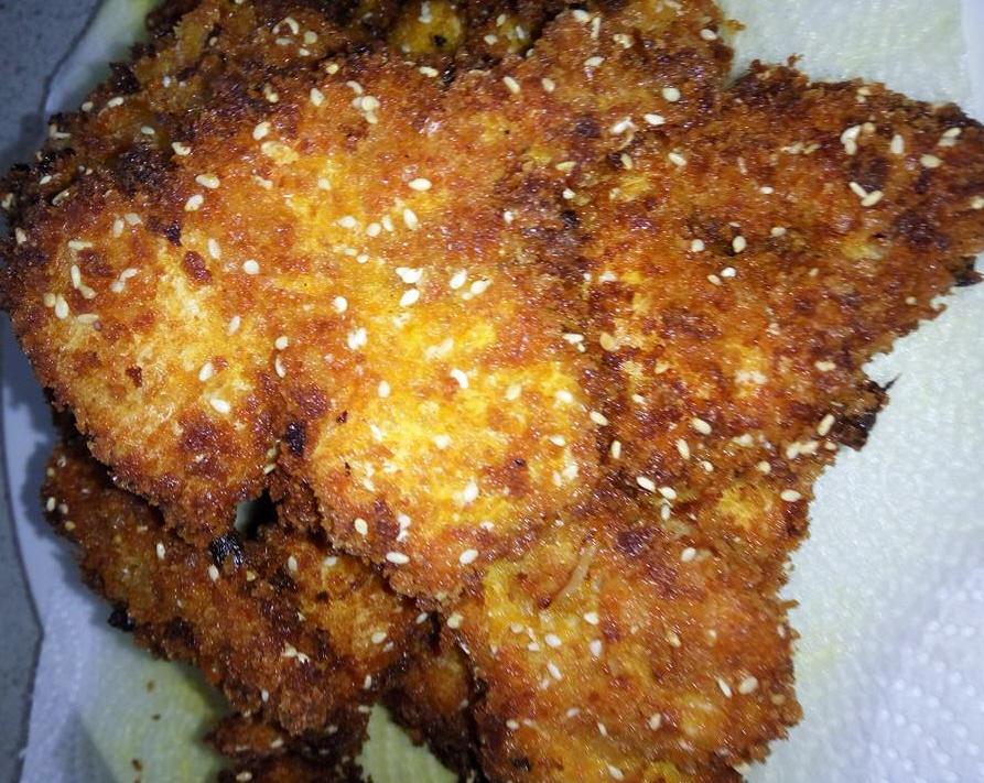מבשלים ואופים עם מאסטר מתכונים   ---    מתכון שניצלים בטמפורה