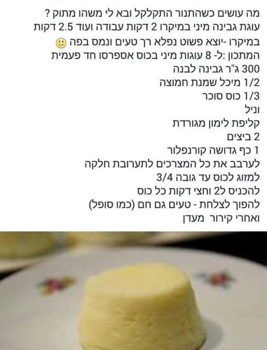 מבשלים ואופים עם מאסטר מתכונים   ---    סופלה גבינה