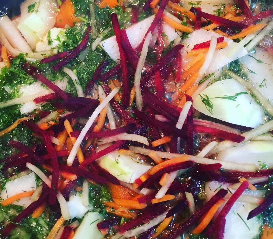 מתכון מרק ירקות משגע