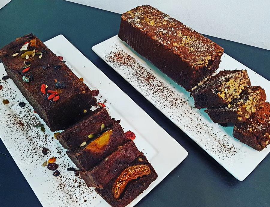 עוגת שוקולד פירות יבשים