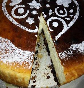 עוגת גבינה מעלפת עם אוראו