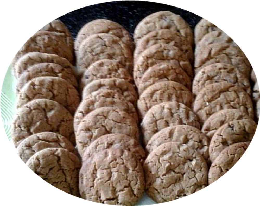 עוגיות חמאת בוטנים ונס קפה