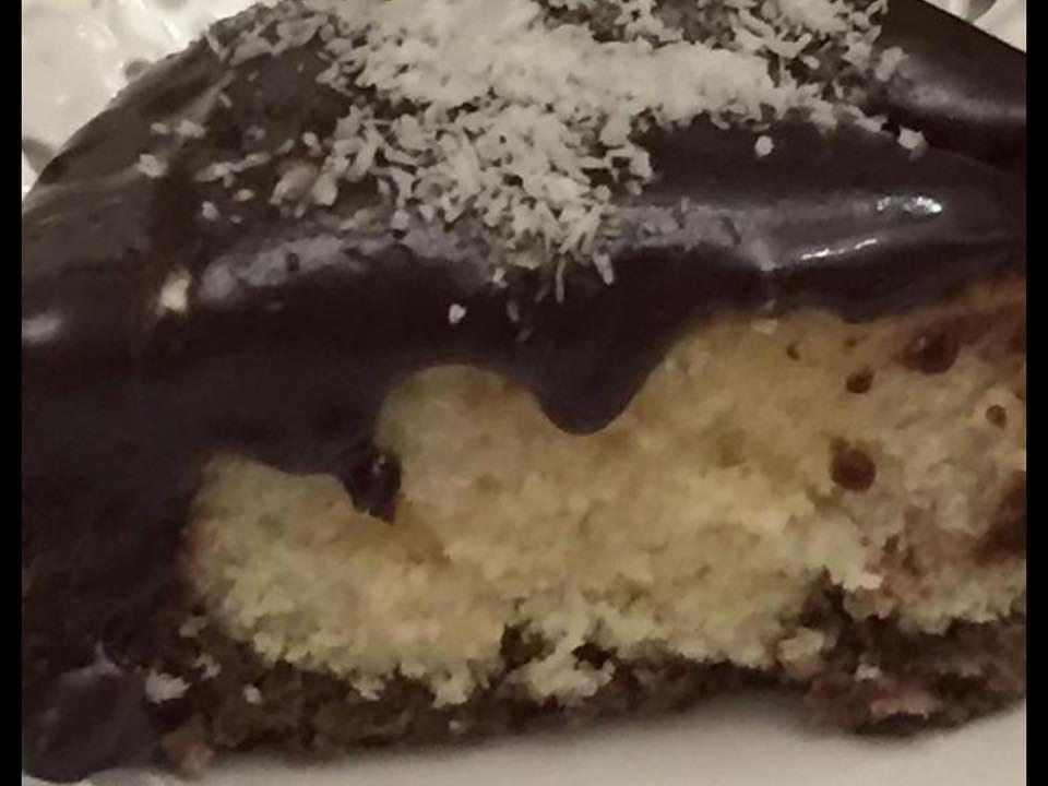 עוגת קוקוס ונוטלה