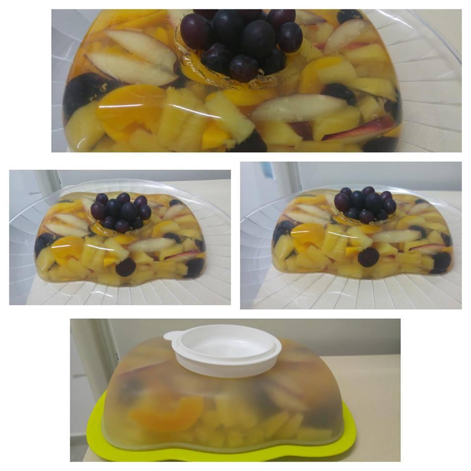 מבשלים ואופים עם מאסטר מתכונים   ---     ג'לטין עם פירות בטעם משמש
