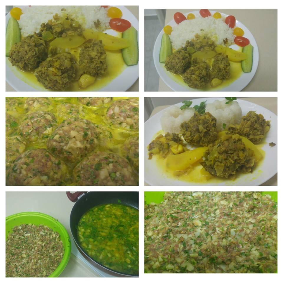 קציצות בשר עם ראשי ארטישוק בטעם לימון