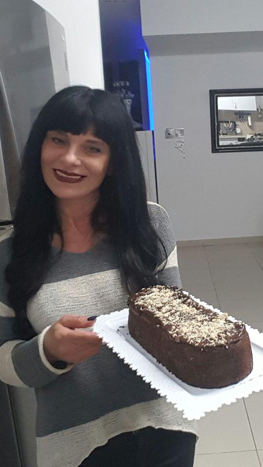 פודינג צרפתי עם ציפוי גנאש שוקולד מריר ונוטלה