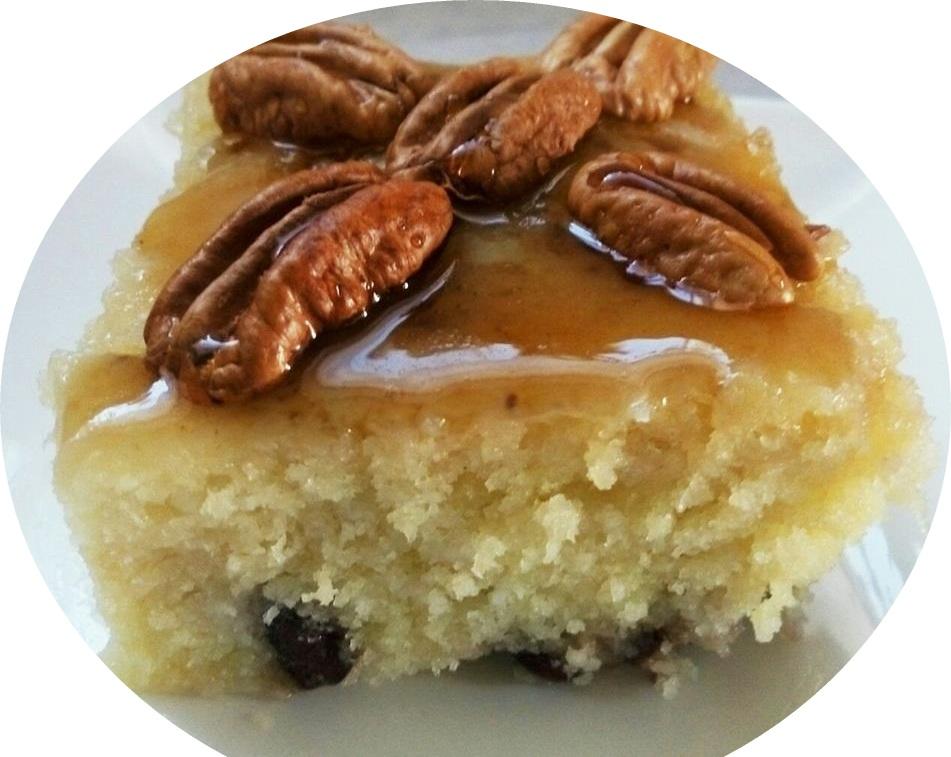 עוגת מייפל במיקרוגל