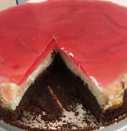עוגת שוקולד ריקוטה