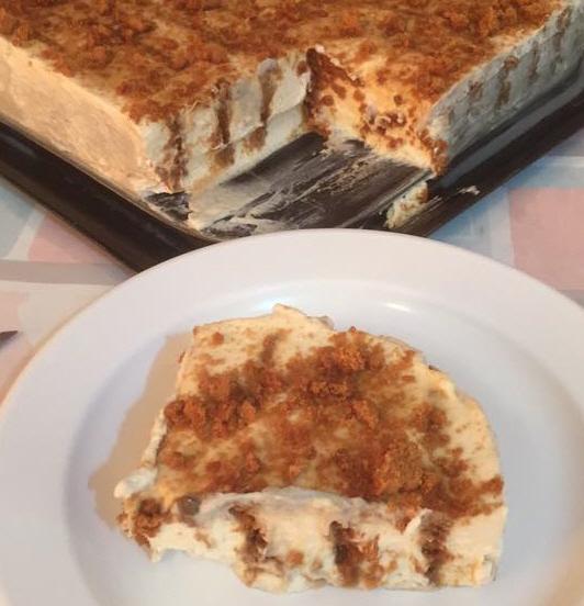 עוגת בסקוויטים לוטוס