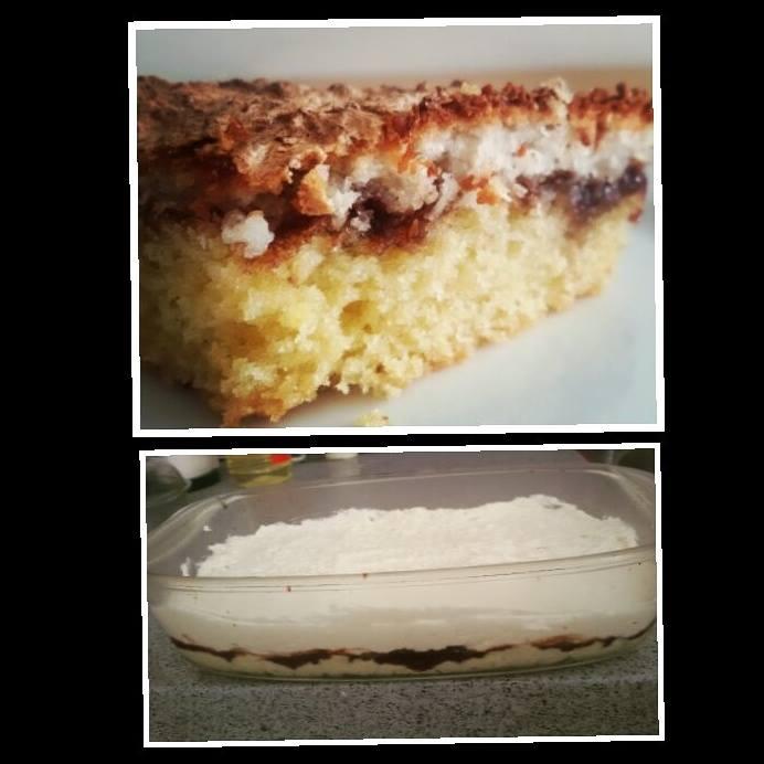עוגת קוקוס ריבה – נוסטלגיה