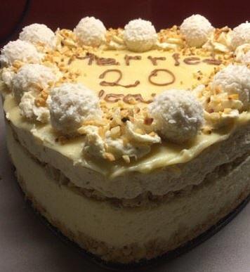 עוגת רפאלו שכבות