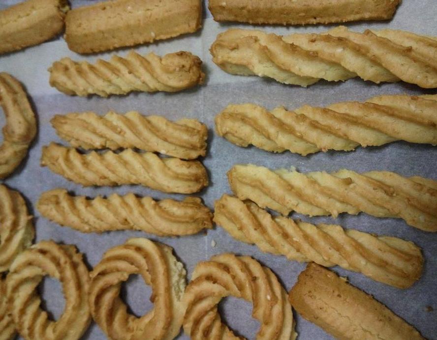 עוגיות מכונה עם שמן