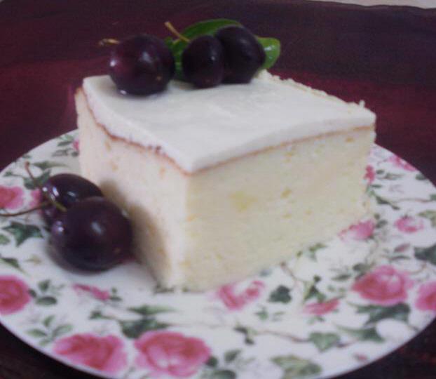 עוגת גבינה אוורירית מעולה הנאפית במים ... גילה כהן-אבני