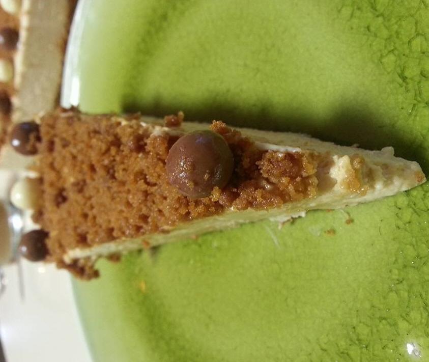 עוגת גבינת שמנת ולוטוס ... דורית אוחנה ממן