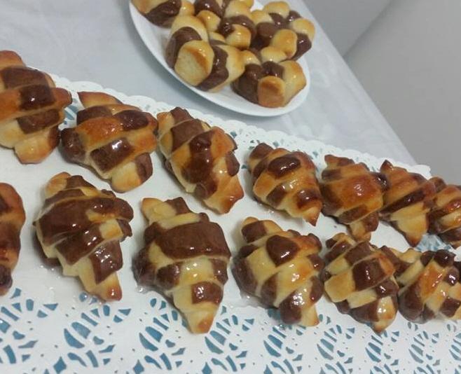 עוגיות בצק שמרים לבן ... כרמלה שמואל