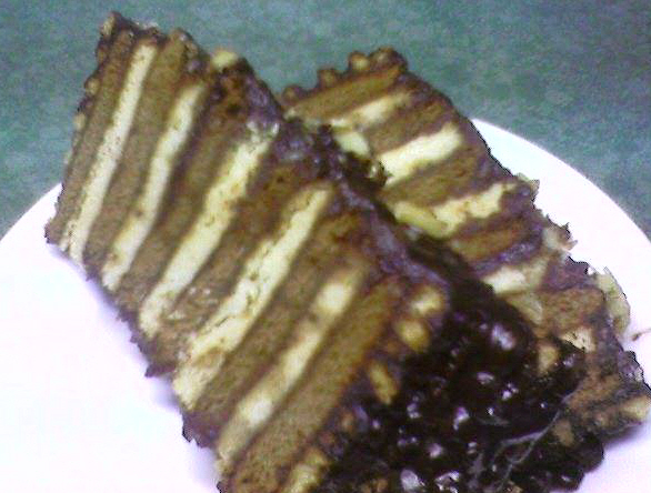 רולדת שוקולד ובסקויטים  ... גילה כהן-אבני