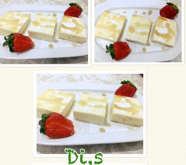 עוגת גבינה של בית מלון  ... די שיקר
