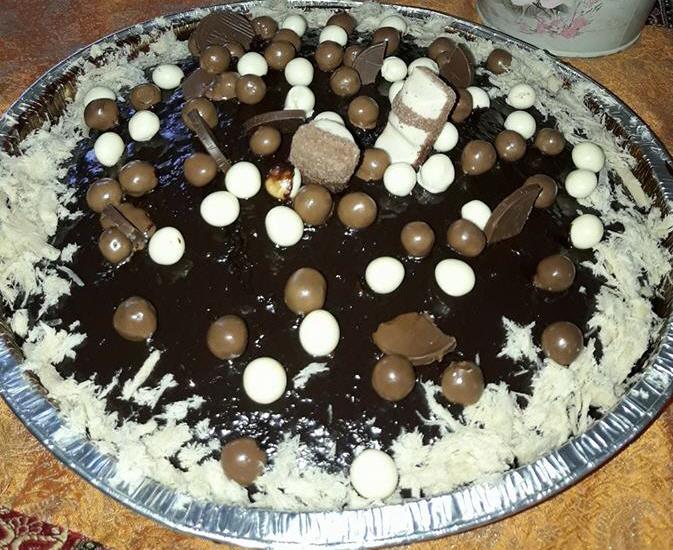 עוגה כושית פשוטה טעימה וקלת הכנה