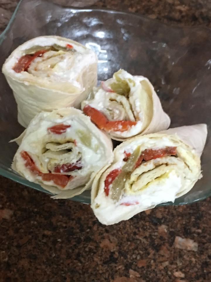חצילים ופילפל בטוסטר - ארוחת בוקר בצ׳יק