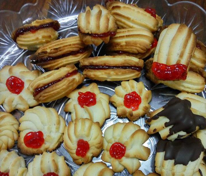 עוגיות עם שקית זילוף