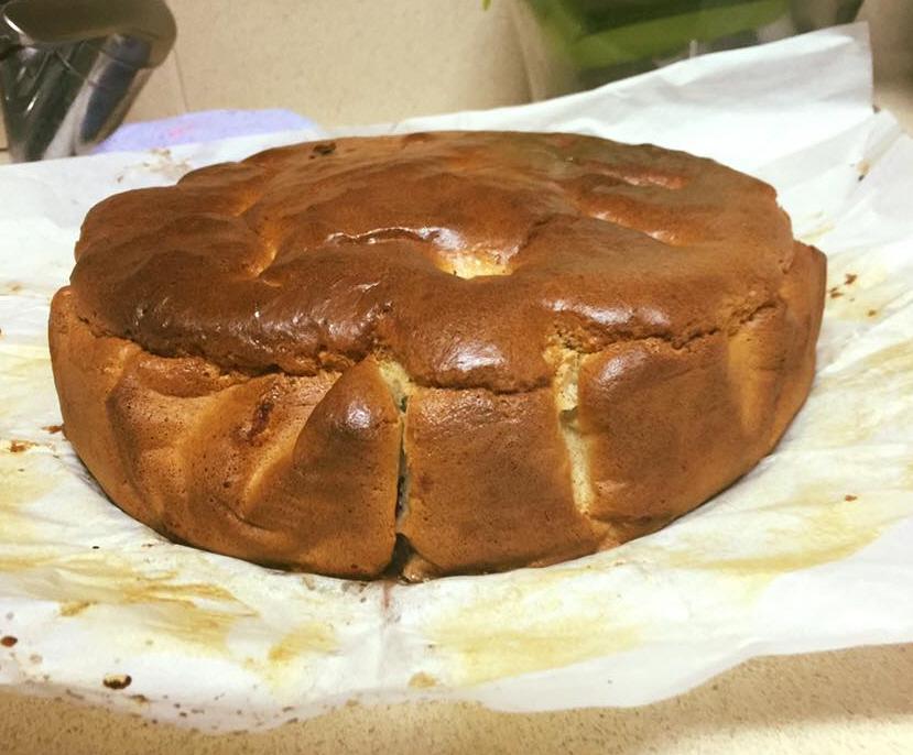 עוגת תפוחים הפוכה ללא גלוטן מתאימה לחולי צליאק תו לדיאטת 17 הימים בלי קמח בכלל דיאטטית וטעימה