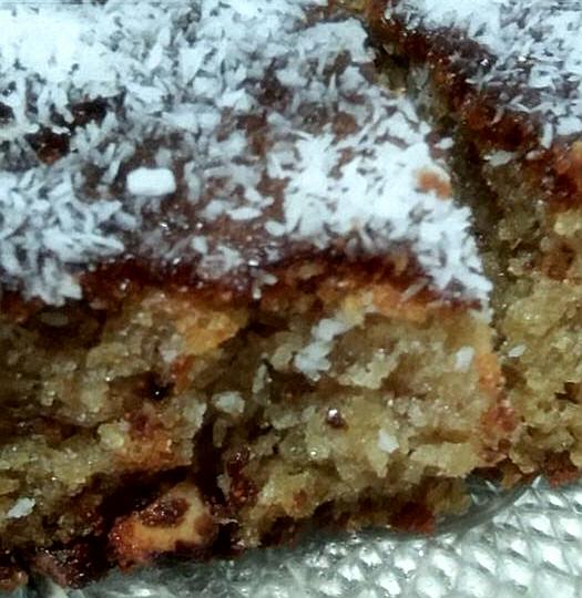 עוגת קוקוס ואגוזים -עוגה מדהימה