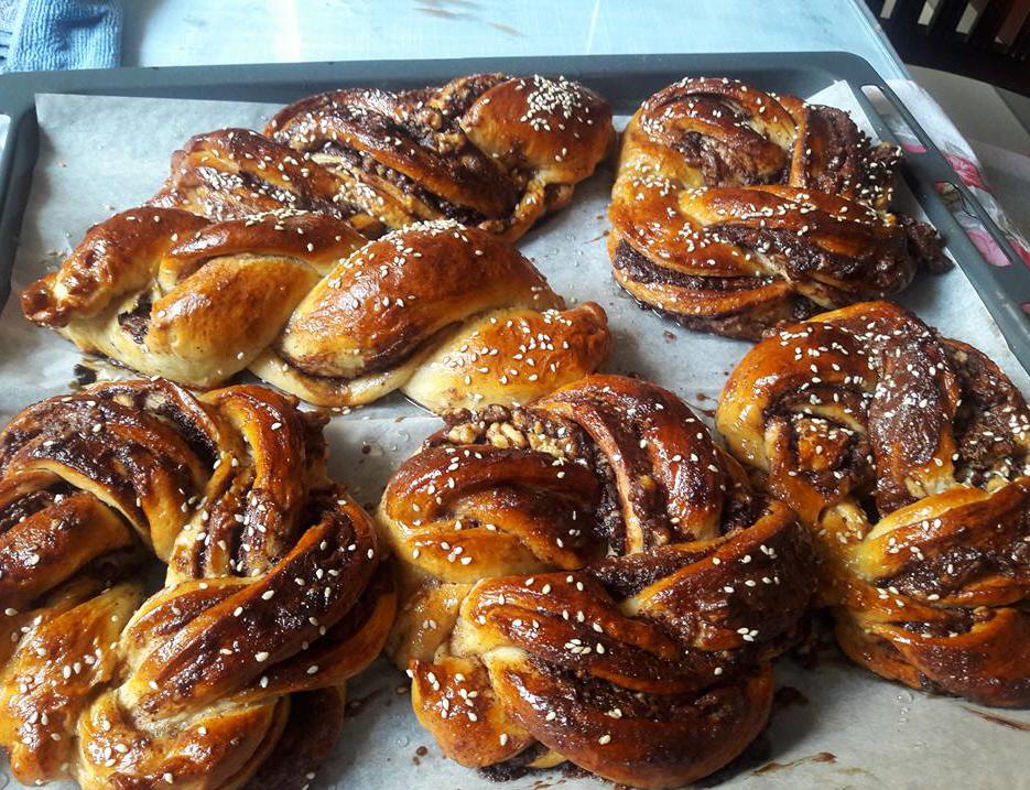 עוגת שמרים קרנצ- יפה דודיאן