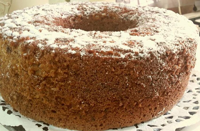 עוגת קוקוס ושוקולד מגורד
