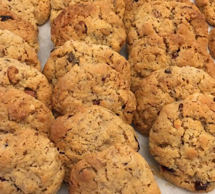 עוגיות גרנולה בריאות וממכרות