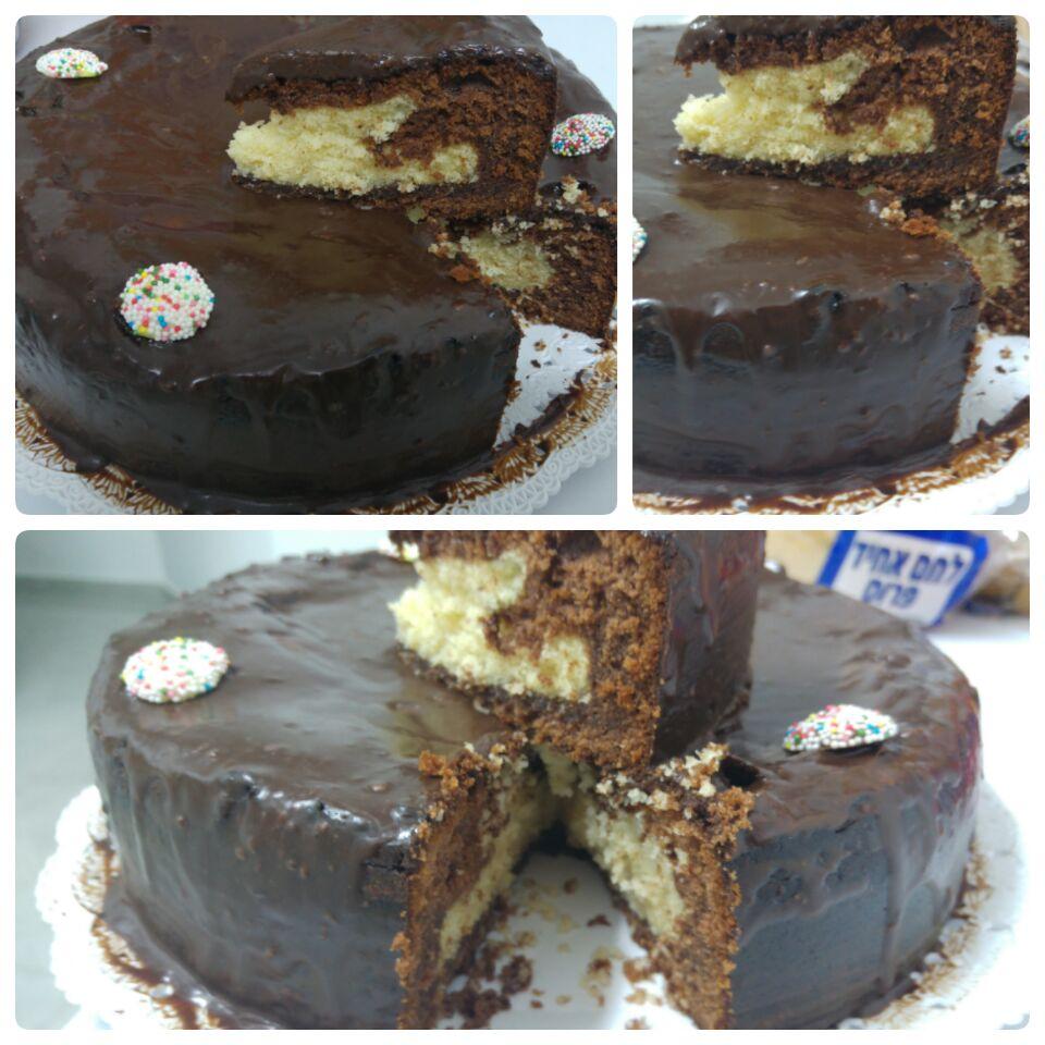 עוגה ב 10 דקות קלה וטעימה