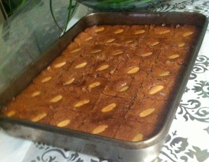 בסבוסה- עוגת סולת