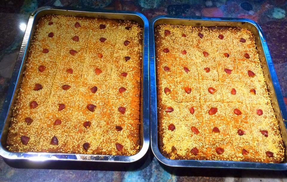 עוגת סולת (בסבוסה)