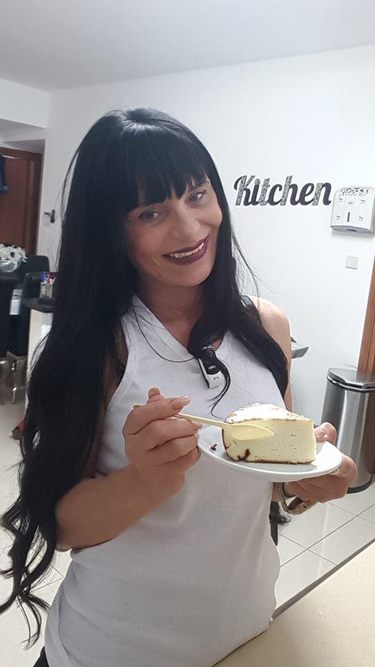 עוגת גבינה  באדיבות גיטה סלע
