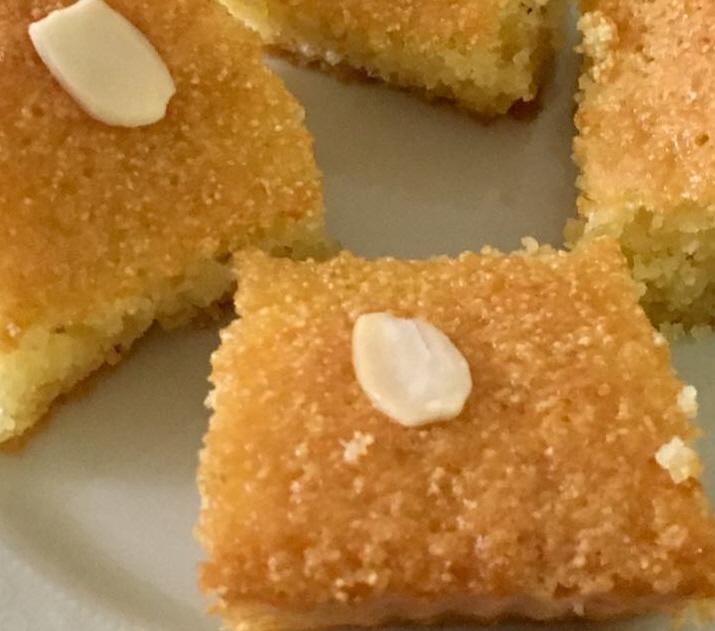 עוגת סולת נוסטלגית