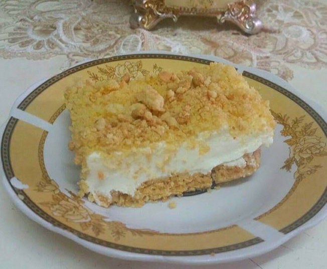 עוגת גבינה פירורים -  רוחמה כהן