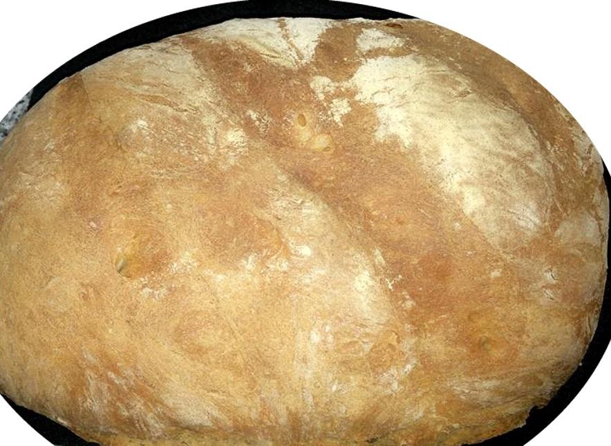 לחם כפרי משגע רך בפנים וקשה בחוץ - גיטה סלע
