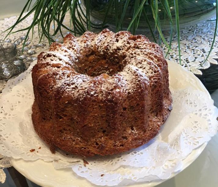 עוגת גזר אגוזים סירופ מייפל מטריפה