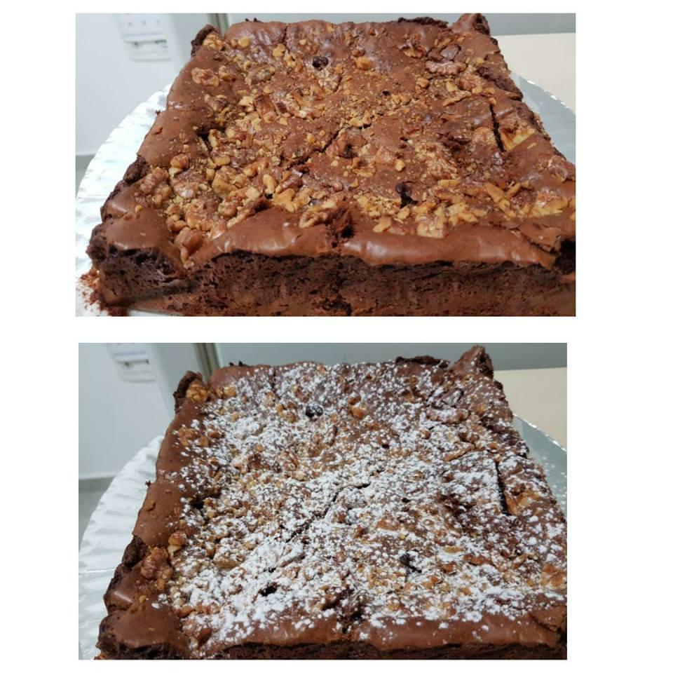 עוגת בראוניז טעימה - מלי מאירוב בהשראתך והמתכון של חברה יקרה שלנו ....מרי שרעבי