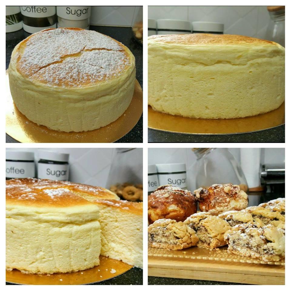 עוגת גבינה אפויה מעלפתתת בסיר ג'חנון