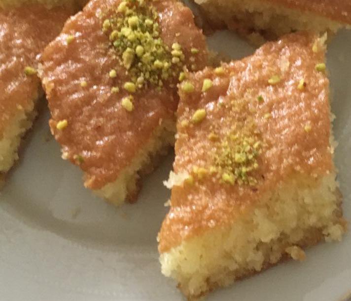 עוגת סולת בולגרית