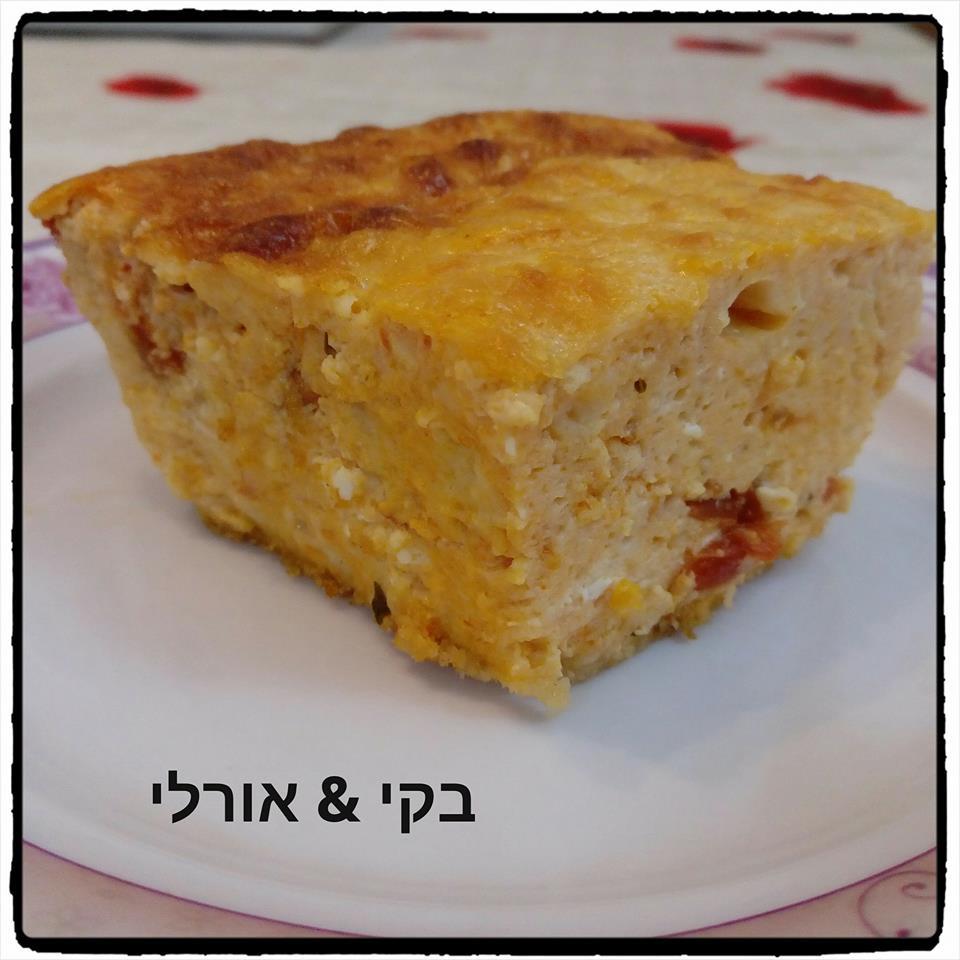 פשטידת גבינות ורוטב perfecto בזיליקום