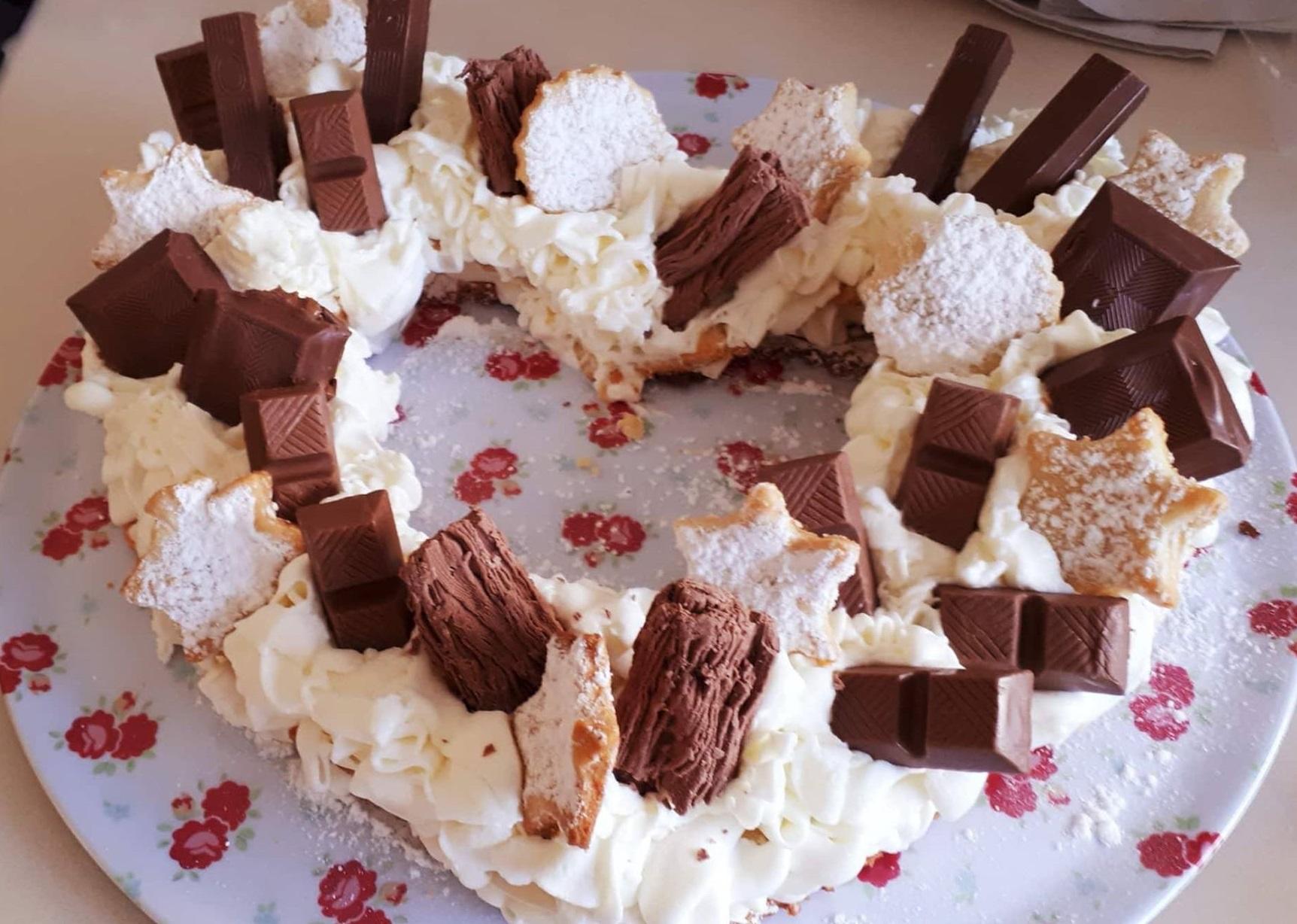 עוגת מספרים/לב