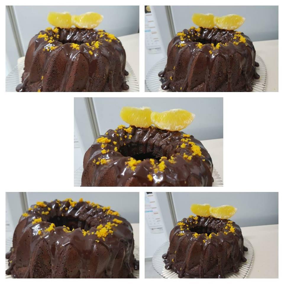 עוגת שוקולד תפוז בחושה, קלה וטעימה