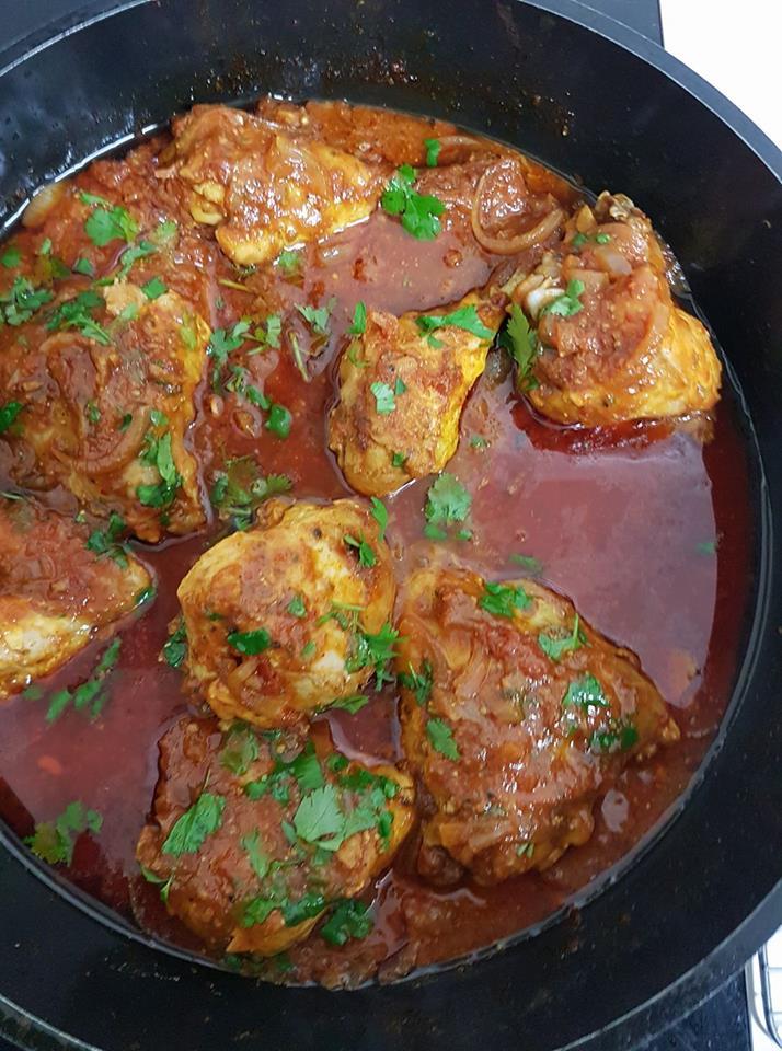 תבשיל עוף מרוקאי כפרי