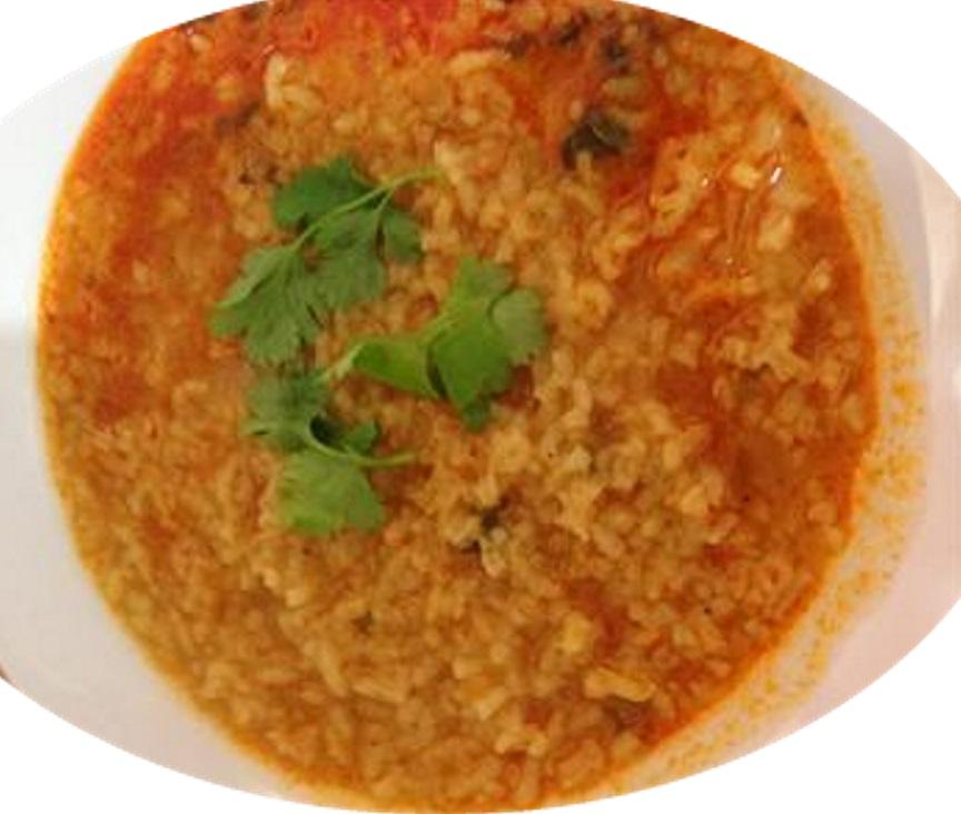 מרק אורז וגריסים
