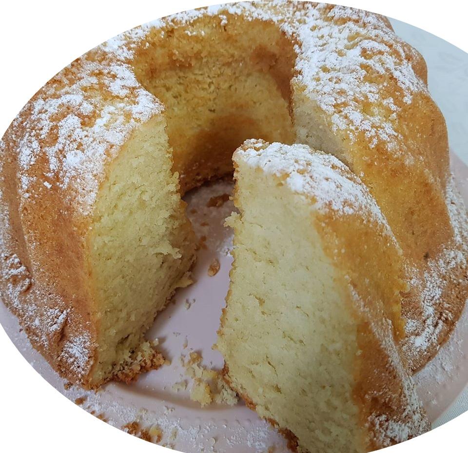 עוגת וניל וממרח חלבה