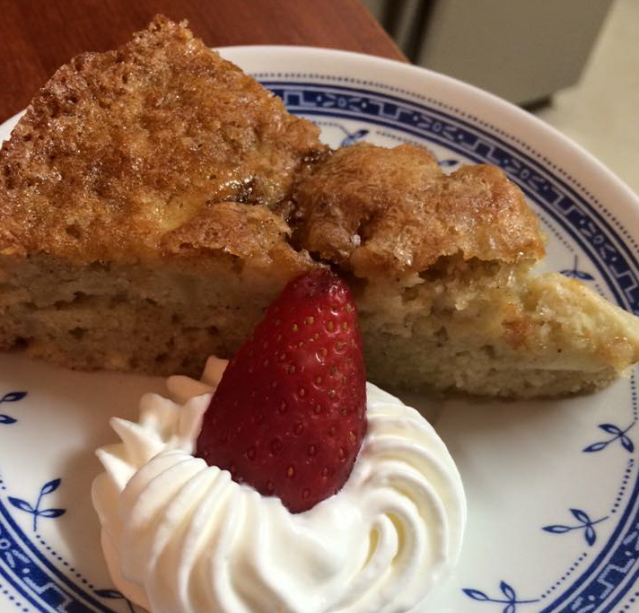 עוגת תפוחים ואגוזים בחושה  מאסטר מתכונים
