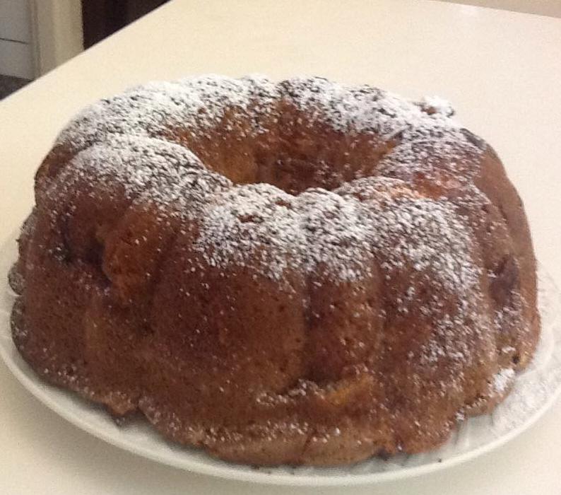 עוגת תפוחי עץ רכה טעימה ומטריפה