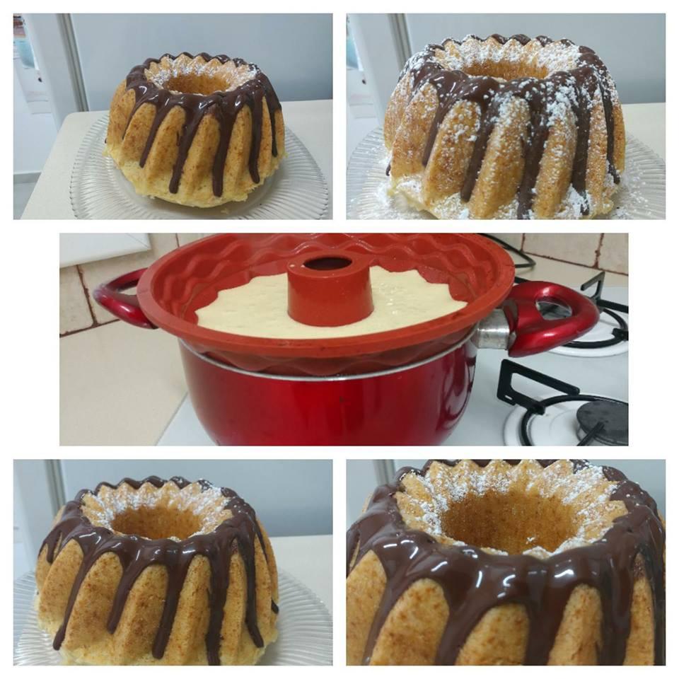 עוגה שבושלה על גז ...בחושה , קלה ללא מאמץ